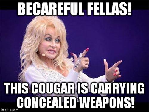 cougar dating meme