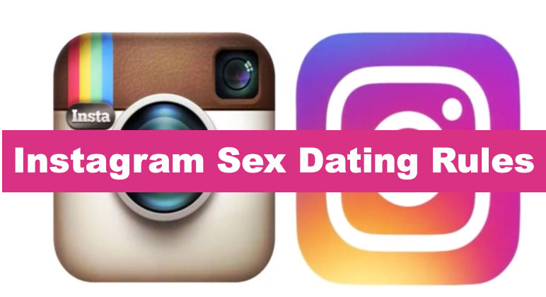 instagram sex rules