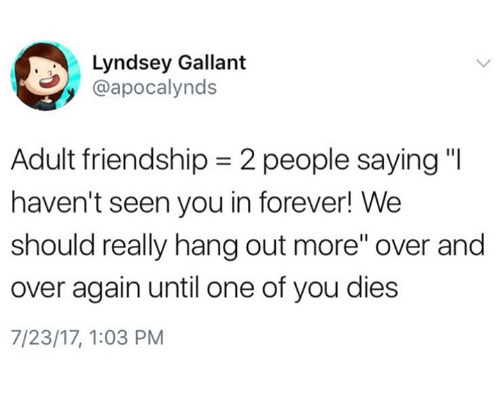 adult friend