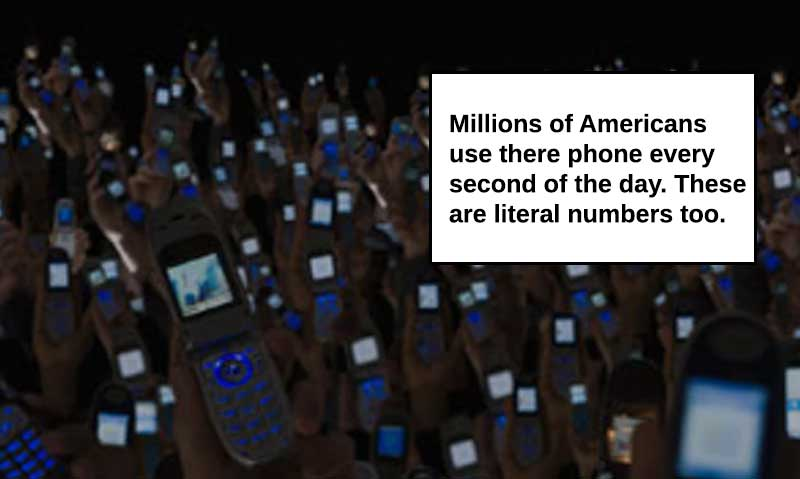 Millions of people use cellphones daily