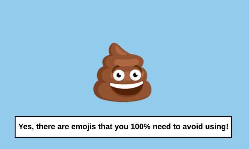 emojis you must avoid