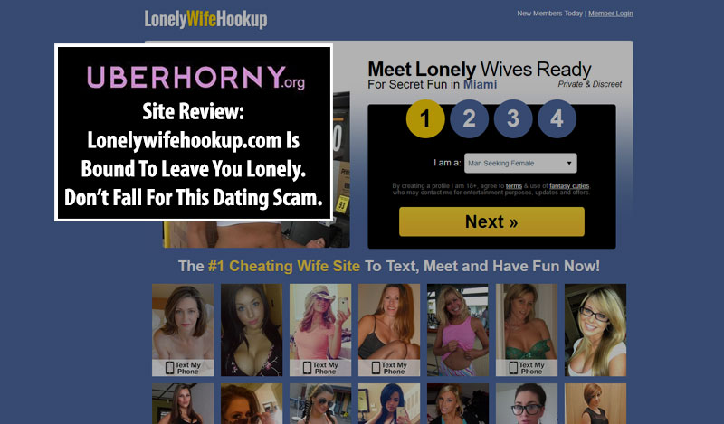 lonelywifehookup fake