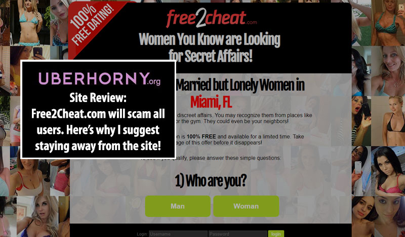 Free2cheat website